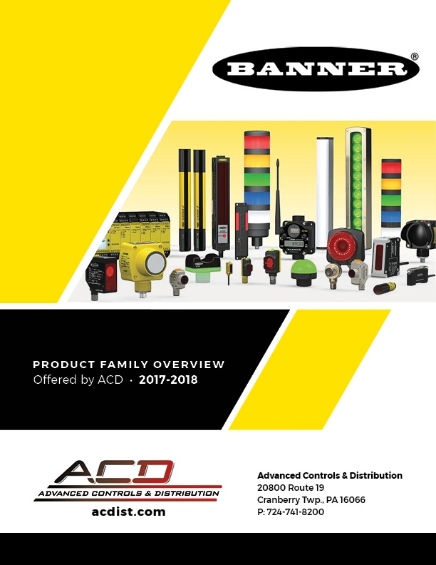 Banner Engineering Product Family Overview from ACD