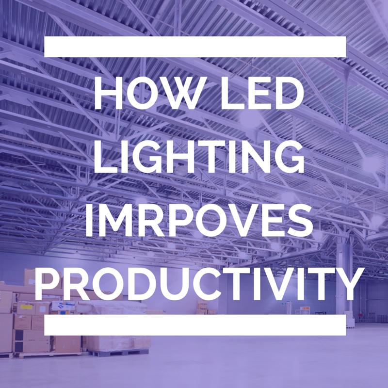 LED lighting Improves Productivity