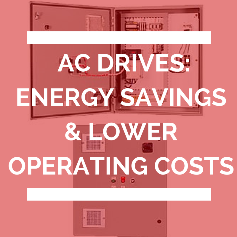 Energy savings and lower operating costs with AC Drives