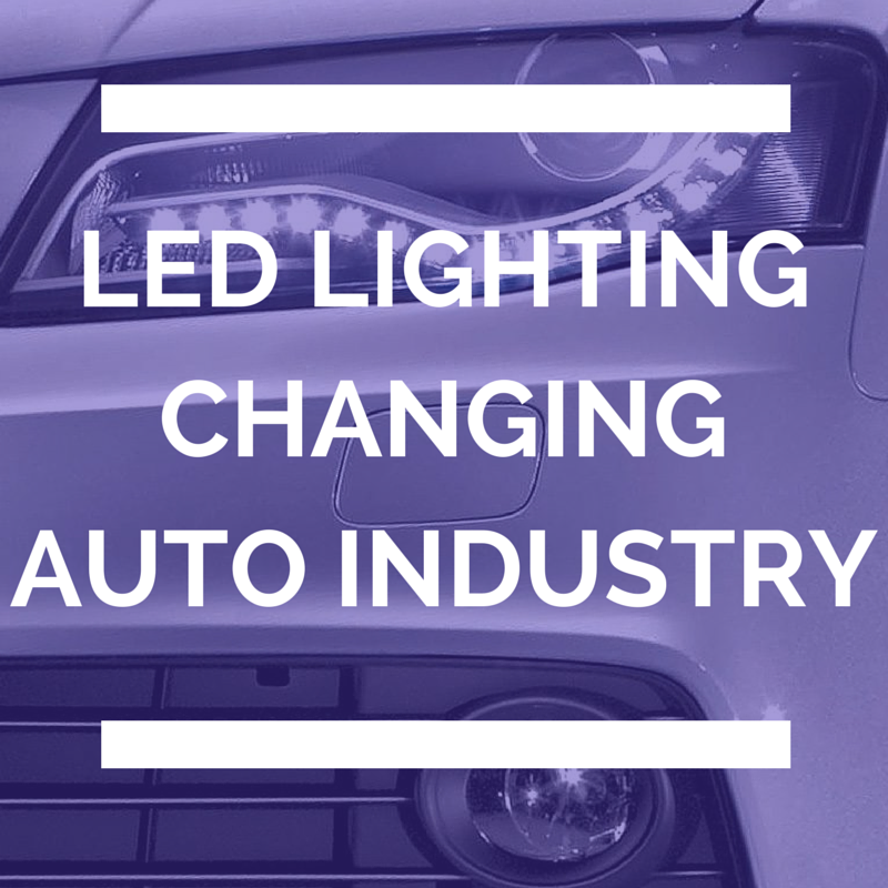 LED lighting changing the auto industry