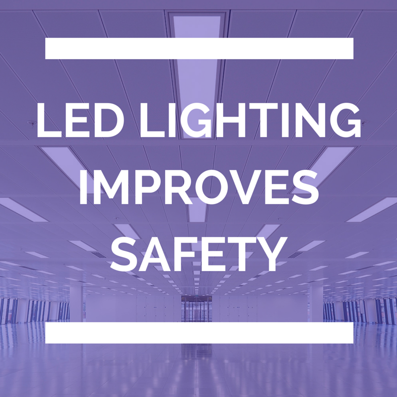 LED lighting Improving Safety