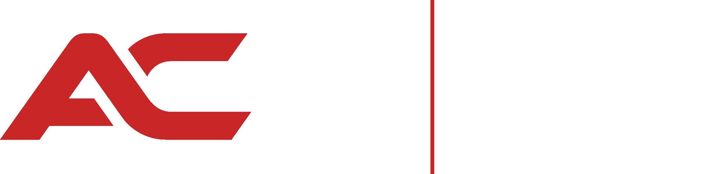 New ACD logo white