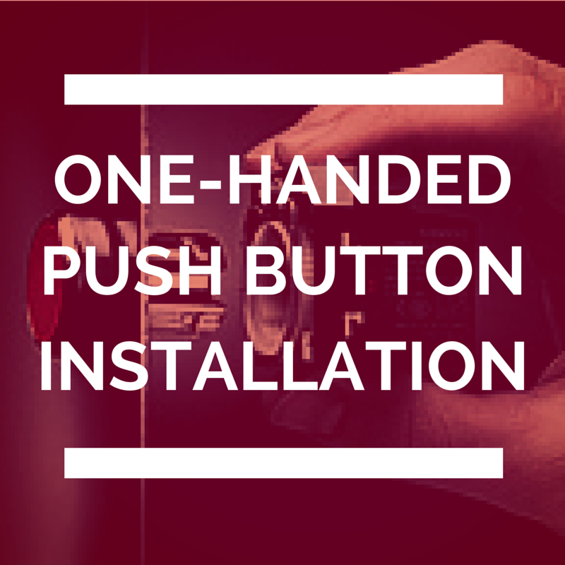 SIRIUS ACT: The extremely rugged, most beautiful, and easy to install push button.