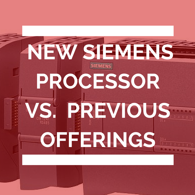 new siemens processor vs previous offerings
